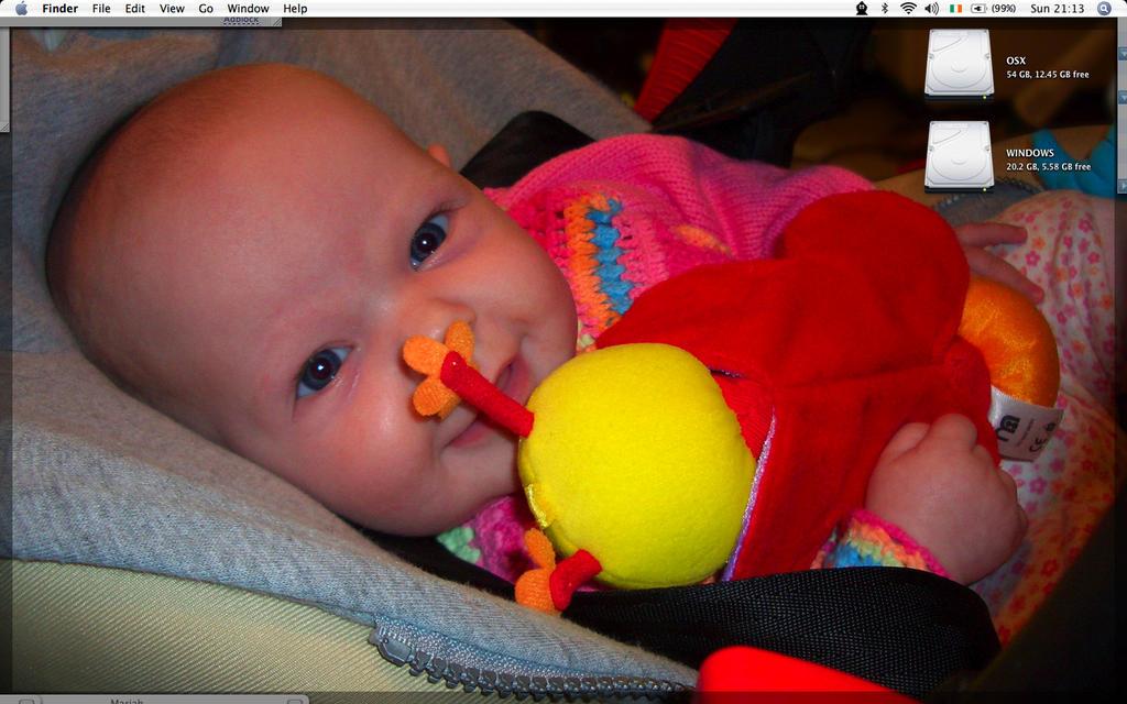 December OS X desktop